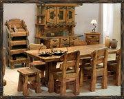 Мебель под старину,  искусственно состаренная мебель