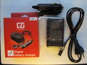 Зарядка для фотоаппарата авто+сеть от 100гр