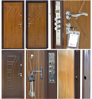 вхідні двері з МДФ накладкою