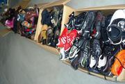 Обувь секонд хенд. 1-ый сорт,  экстра,  крем,  новая. Спорт. Не дорого.