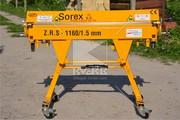 Станок для гибки металла Sorex ZRS 1160