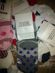 Детские носки от 3 до 12 лет. Производство: Италия. 10 грн/пара.