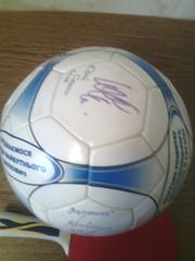 продам мяч с автографами