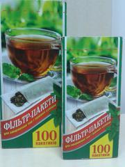 Фильтр пакеты для заваривания чая