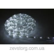 Дюралайт гофрированный LED 10м с контроллером белый
