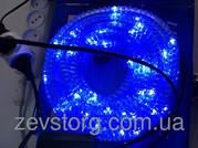Дюралайт LED 10м с контроллером синий