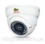 Купольная вариофокальная камера с ИК подсветкой Partizan CDM-VF37H-IR