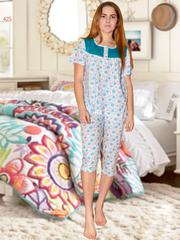 Пижамы футболка и капри женские оптом піжами футболка і капрі жіночі