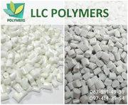 Полипропилен гранула вторичная. Цвет белый,  серый,  черный