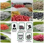 Полимеры вторичные PE100,  PE80,  HDPE-выдув,  литье,  PP,  PS,  HIPS,  ПЭНД